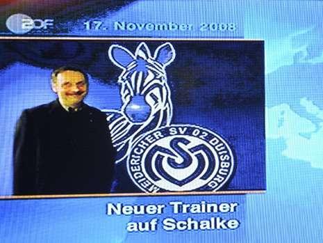Neuer Trainer auf Schalke