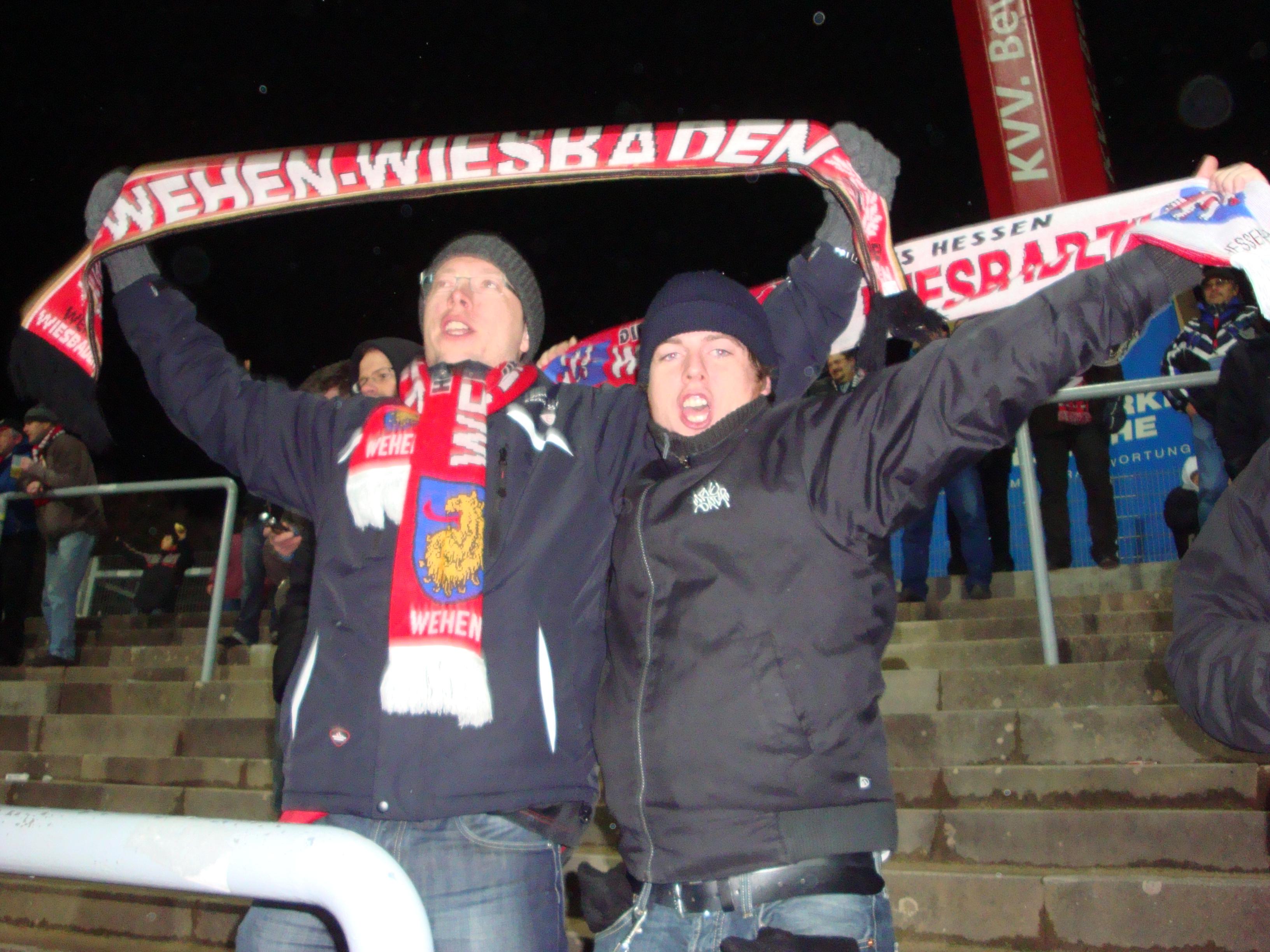 Glückliche Wiesbadener
